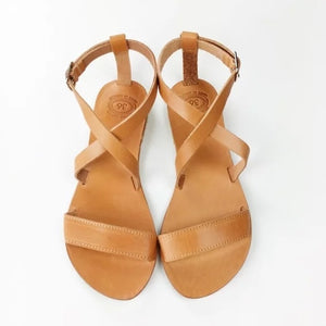 2018 New Open Toe Greek Leather Sandals Summer Holiday Handmade Sandals