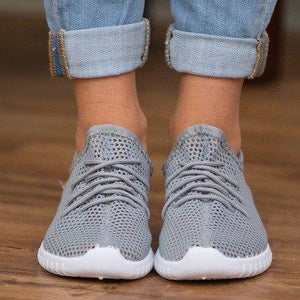 Bonnie Knit Casual Slip On Lace-up Sneakers