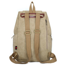 Canvas Casual Big Capacity Backpack