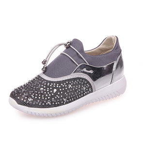 570202b2b67 Water Droplets Breathable Casual Women Sneakers