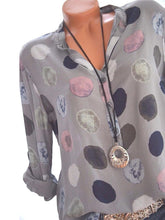 Casual Polka Dot Women's Shirts