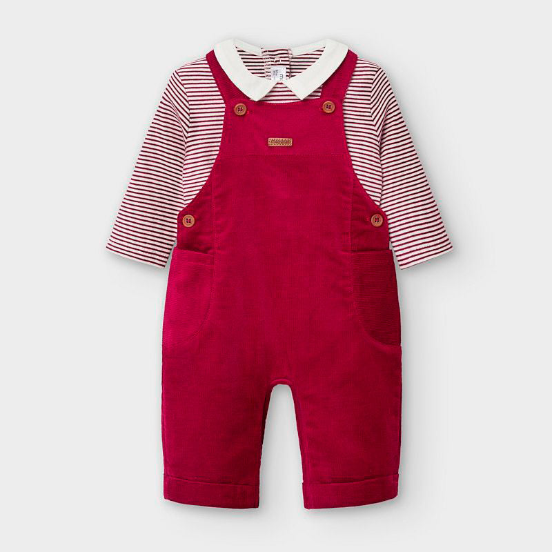 Micro Corduroy Overall Set  - Doodlebug's Children's Boutique