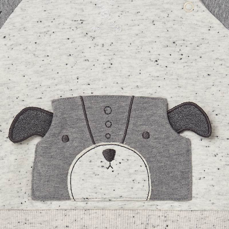 Polka Dot Bear Tracksuit  - Doodlebug's Children's Boutique