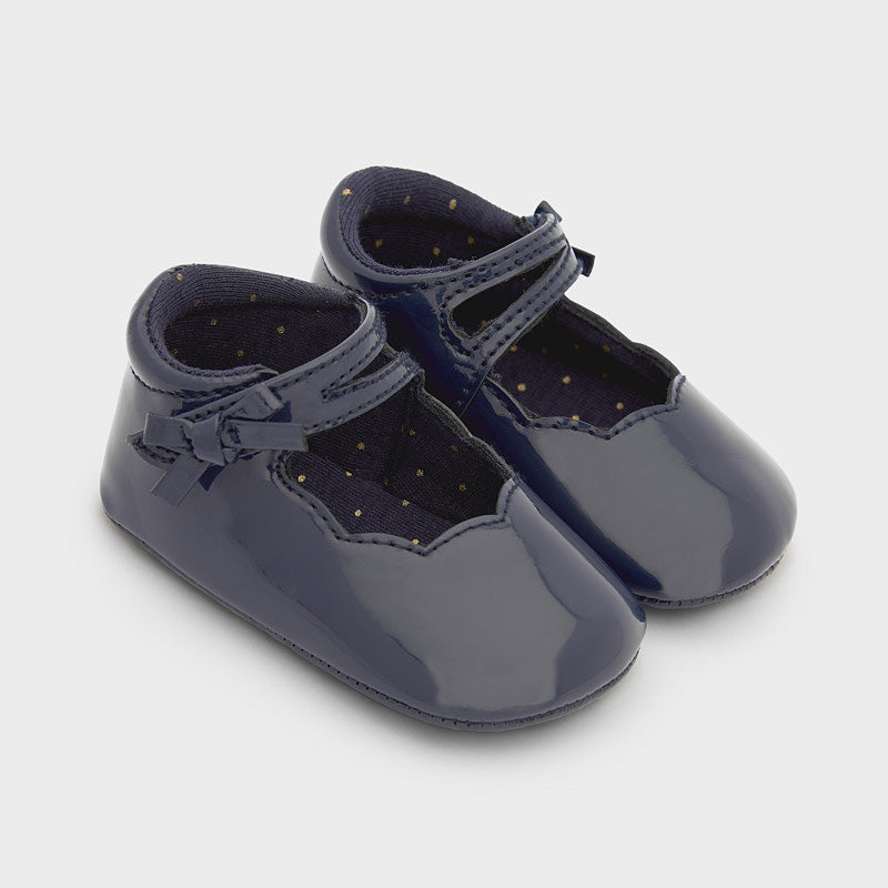Midnight Patent Leather Mary Jane Shoes  - Doodlebug's Children's Boutique