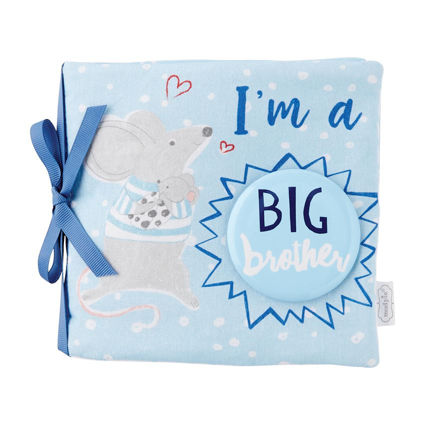 Big Brother Book and Pin Set  - Doodlebug's Children's Boutique