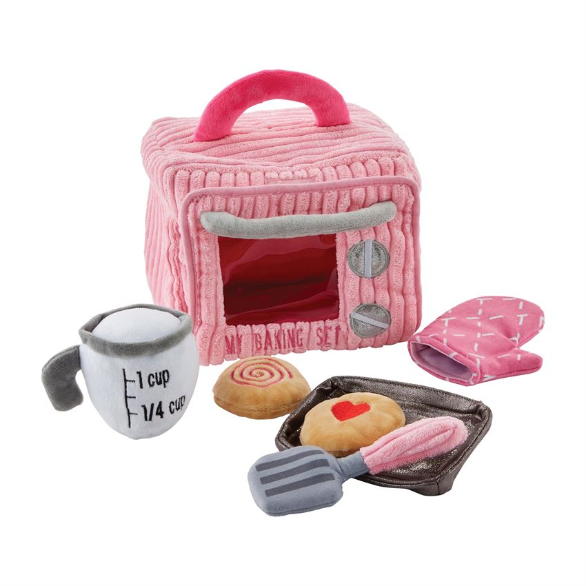 My Baking Plush Set  - Doodlebug's Children's Boutique