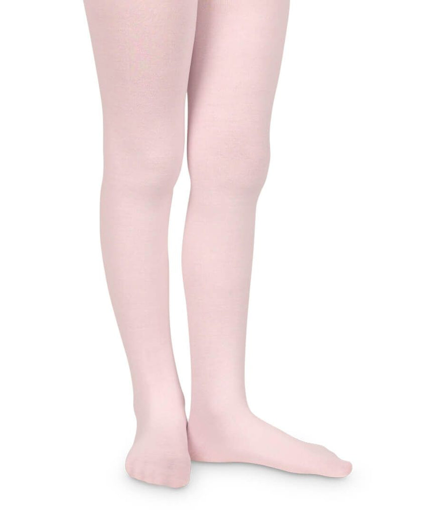 Smooth Toe Organic Cotton Tights in Pink  - Doodlebug's Children's Boutique