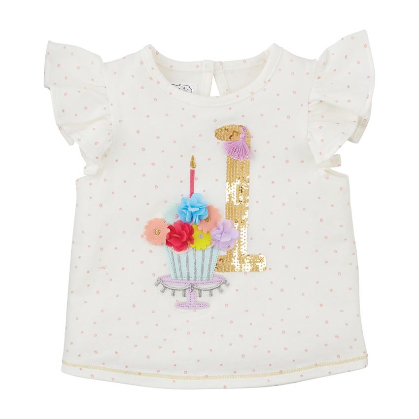 One Birthday Shirt  - Doodlebug's Children's Boutique