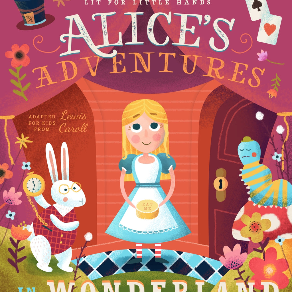 Alices Adventures in Wonderland Book  - Doodlebug's Children's Boutique