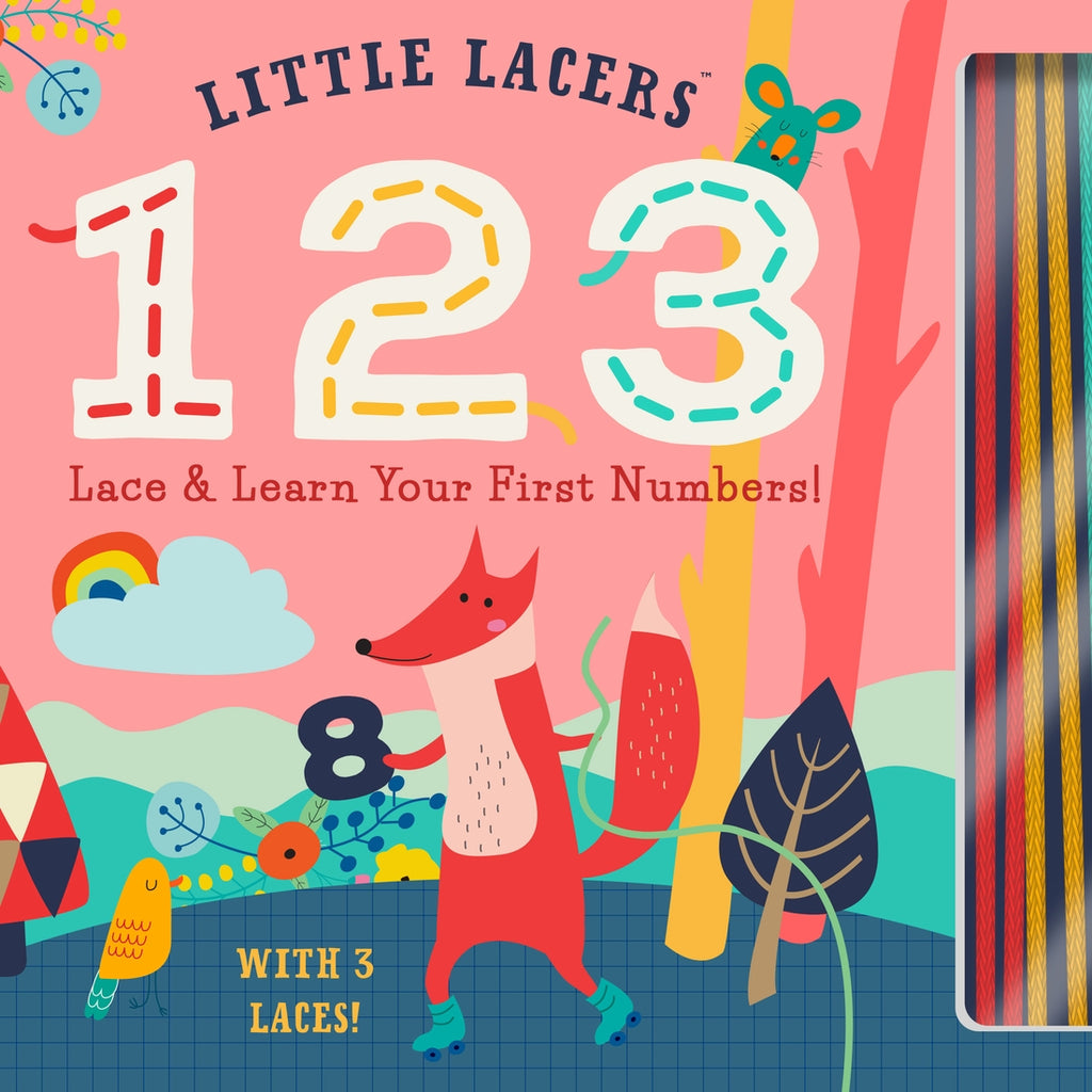 Little Lacers 123 Book  - Doodlebug's Children's Boutique