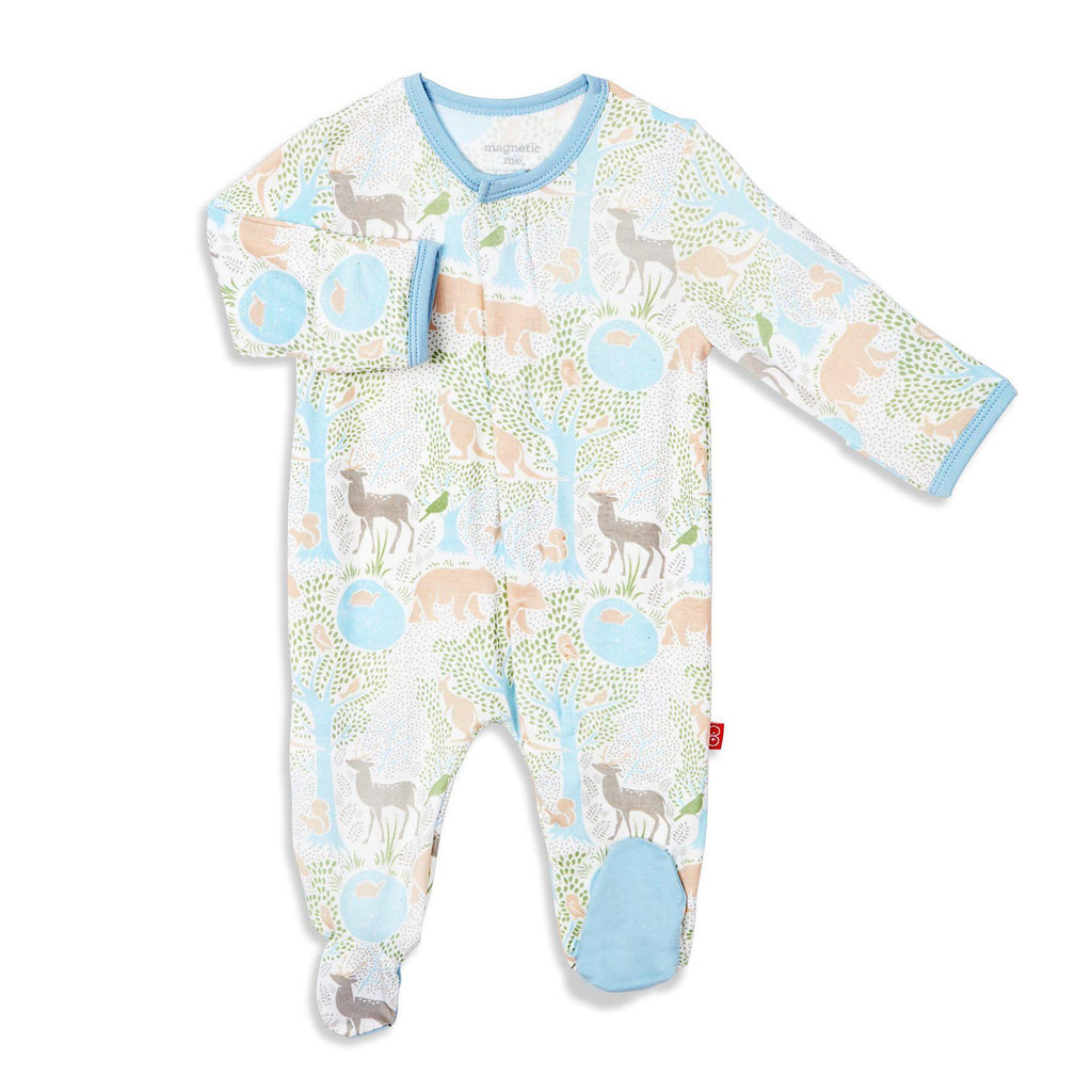 Acadia Magnetic Modal Footie  - Doodlebug's Children's Boutique