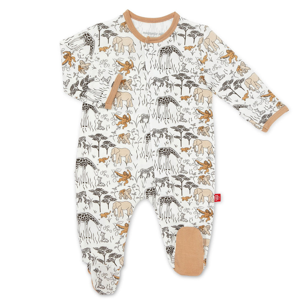 Great Migration Magnetic Modal Footie  - Doodlebug's Children's Boutique
