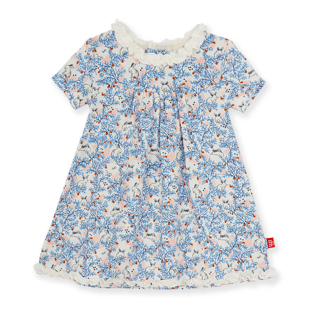 Some Bunny Floral Modal Magnetic Dress  - Doodlebug's Children's Boutique