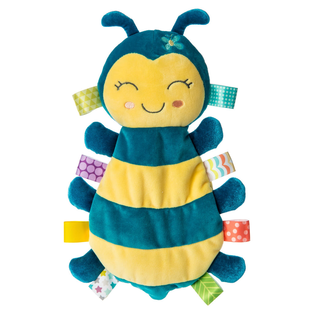 Taggies Fuzzy Buzzy Bee Lovey  - Doodlebug's Children's Boutique
