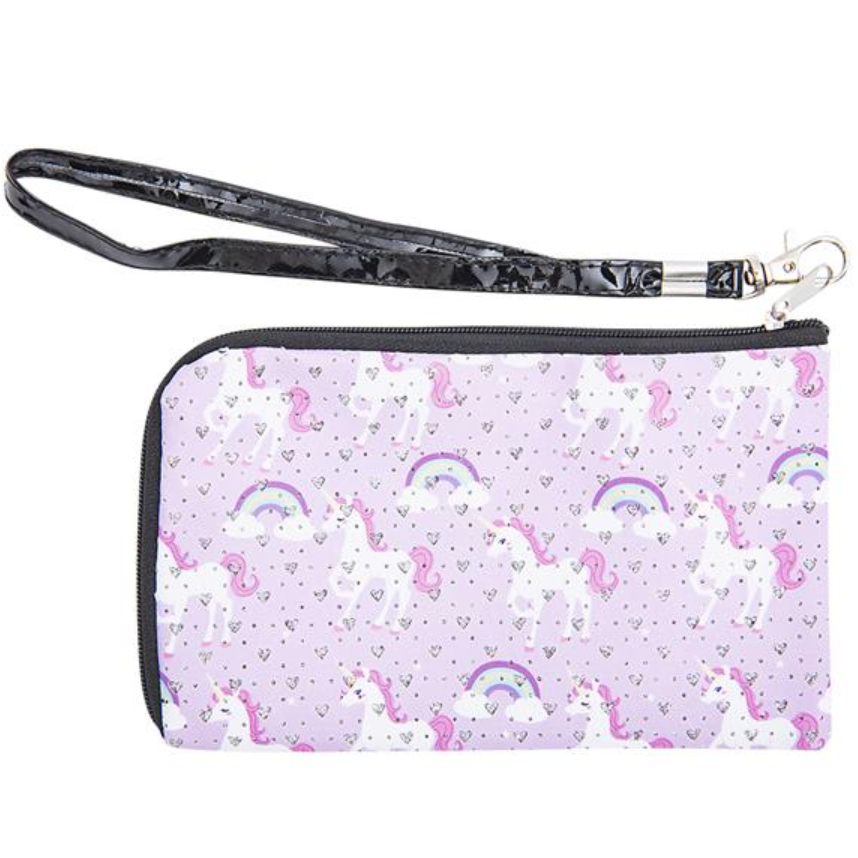 Unicorn Wristlet Light Pink - Doodlebug's Children's Boutique