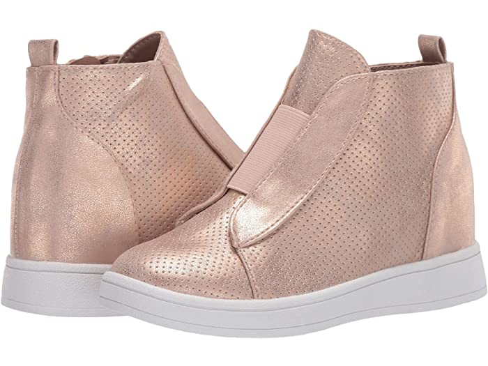 Gracey Rose Gold Wedge Bootie  - Doodlebug's Children's Boutique