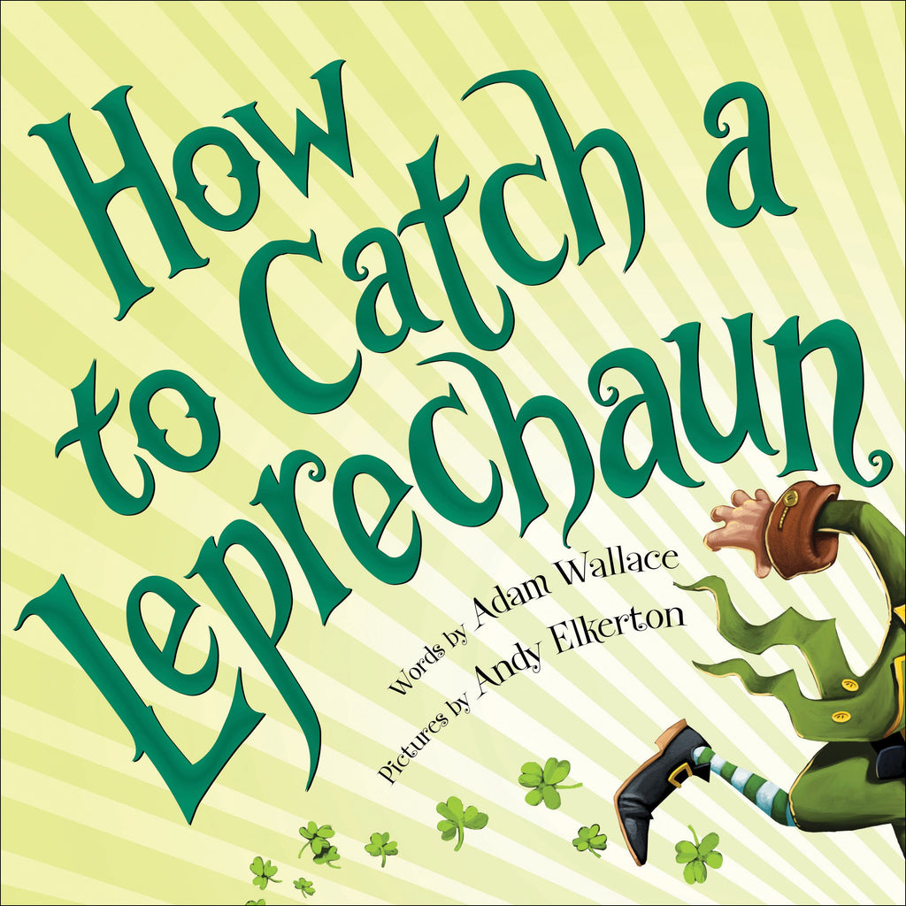 How to Catch a Leprechaun Book  - Doodlebug's Children's Boutique