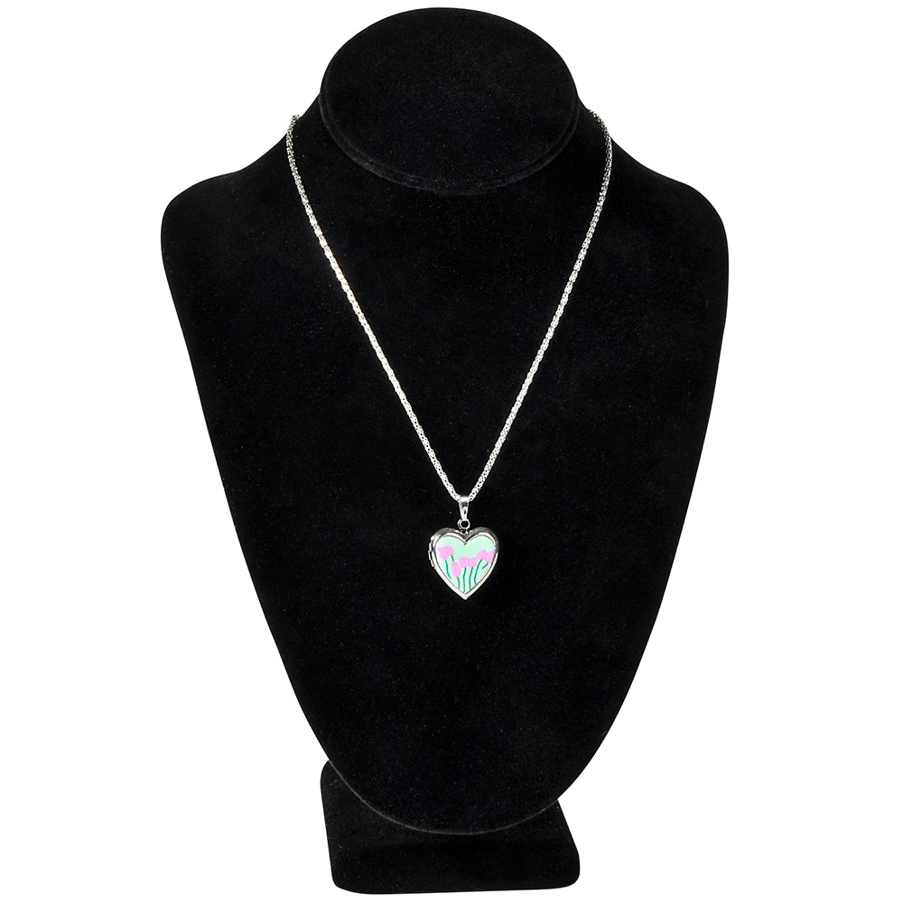 Heart Locket Necklace  - Doodlebug's Children's Boutique