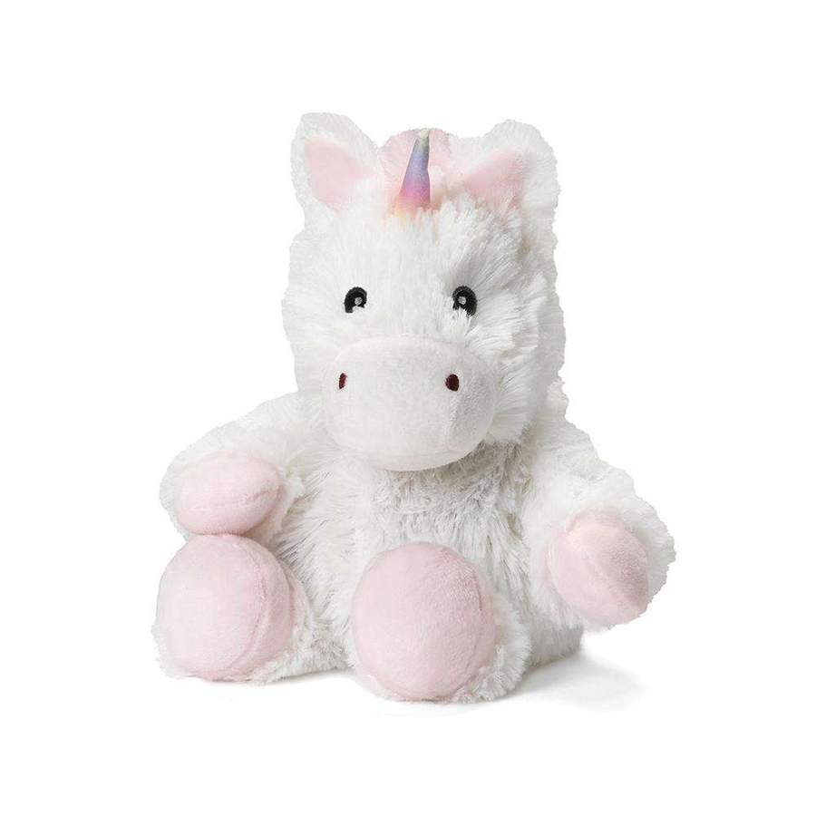 White Unicorn Junior Warmies  - Doodlebug's Children's Boutique