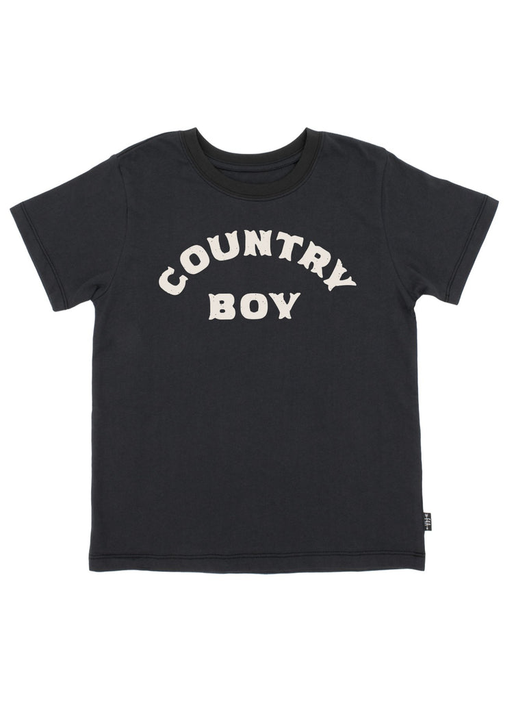 Country Boy Vintage Tee  - Doodlebug's Children's Boutique