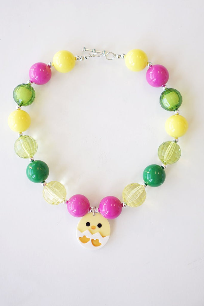 Easter Chunky Necklace  - Doodlebug's Children's Boutique