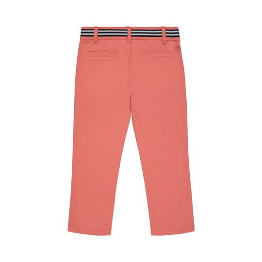 Coral Twill Pants  - Doodlebug's Children's Boutique