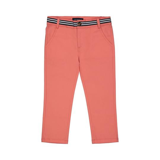 Coral Twill Pants 2T - Doodlebug's Children's Boutique