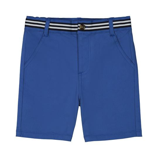 Blue Twill Shorts 2T - Doodlebug's Children's Boutique