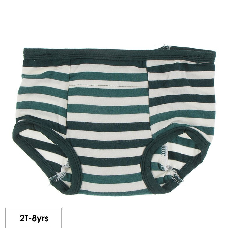 Training Pants in Wildlife Stripe  - Doodlebug's Children's Boutique