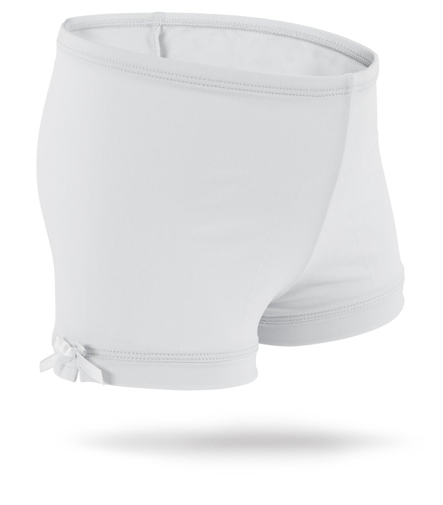 White as Snow Spandex Shorts White as Snow / 2T - Doodlebug's Children's Boutique