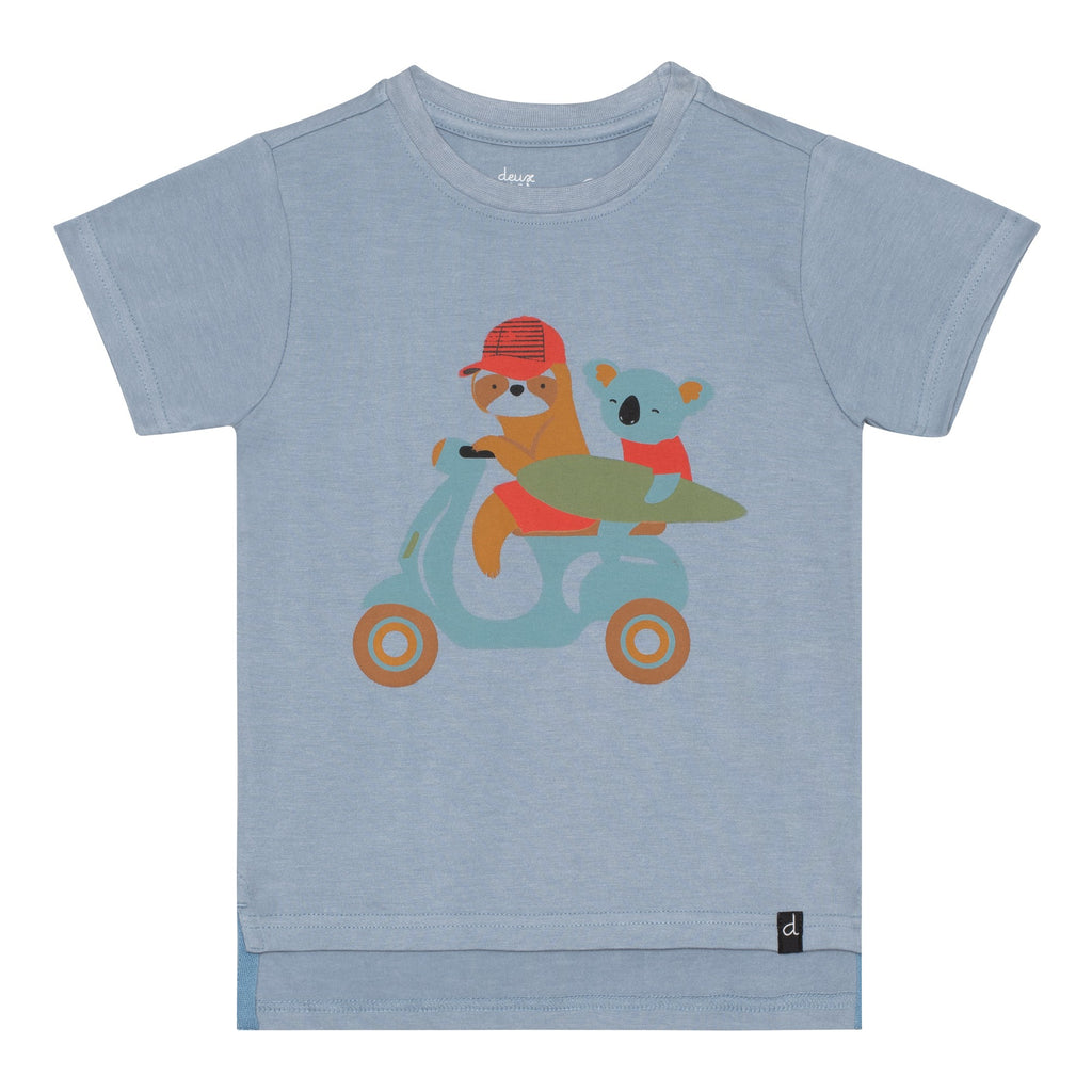 Koala Jersey T Shirt  - Doodlebug's Children's Boutique