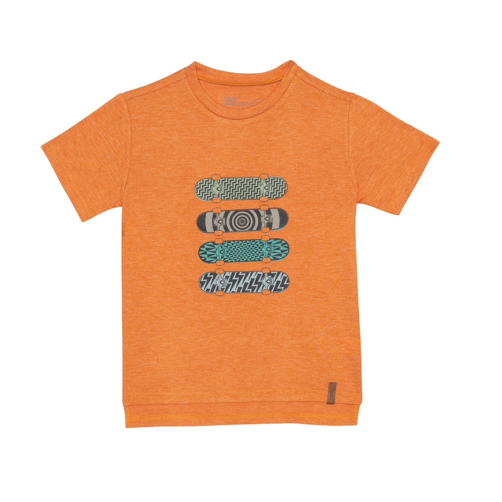 Skateboard Jersey Pocket T Shirt  - Doodlebug's Children's Boutique