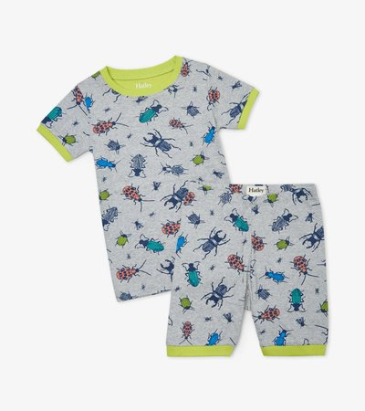 Curious Critters Organic Cotton Short Pajama Set  - Doodlebug's Children's Boutique