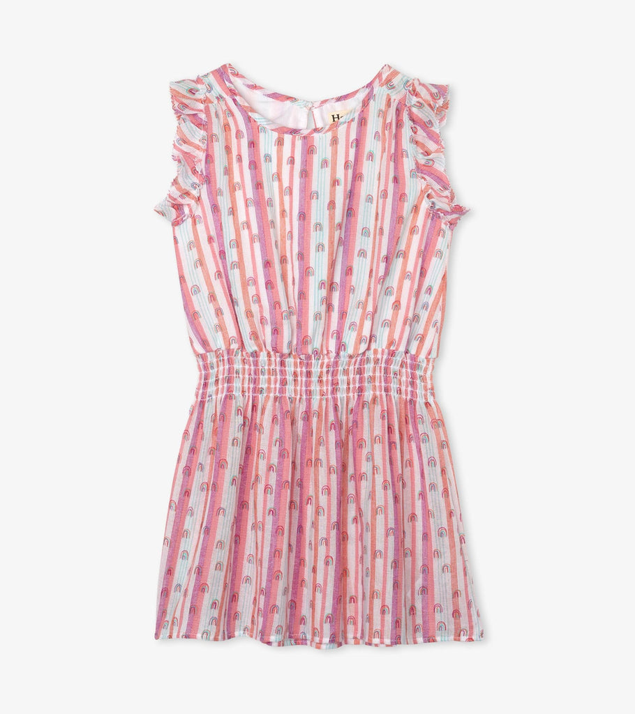 Candy Stripes Rainbow Play Dress  - Doodlebug's Children's Boutique