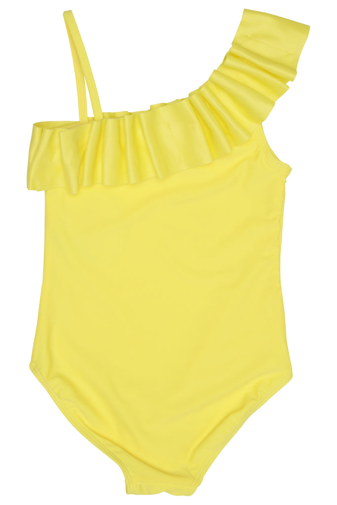 Yellow Swimsuit  - Doodlebug's Children's Boutique