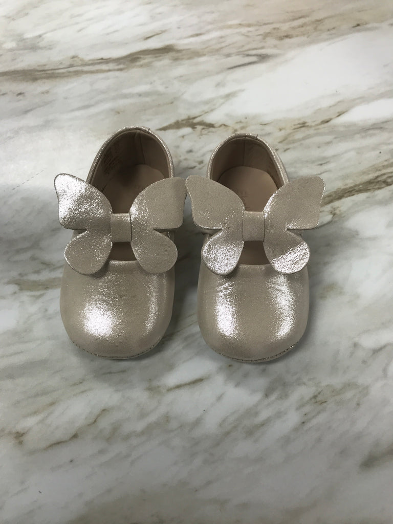 Baby Butterfly Ballerina in Talc  - Doodlebug's Children's Boutique