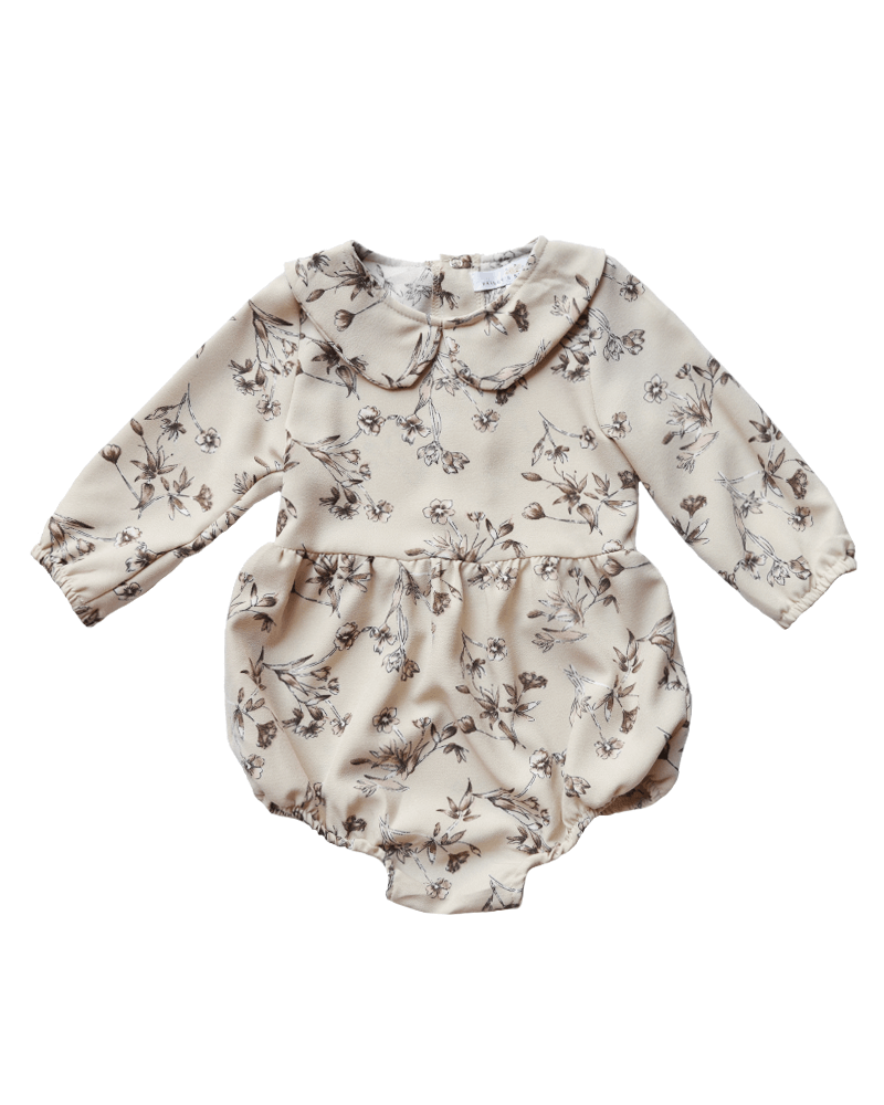 Bailey's Blossoms Lainey Collared Romper