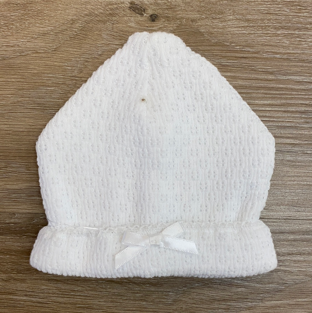 *IMPERFECT* White Sailor Cap  - Doodlebug's Children's Boutique
