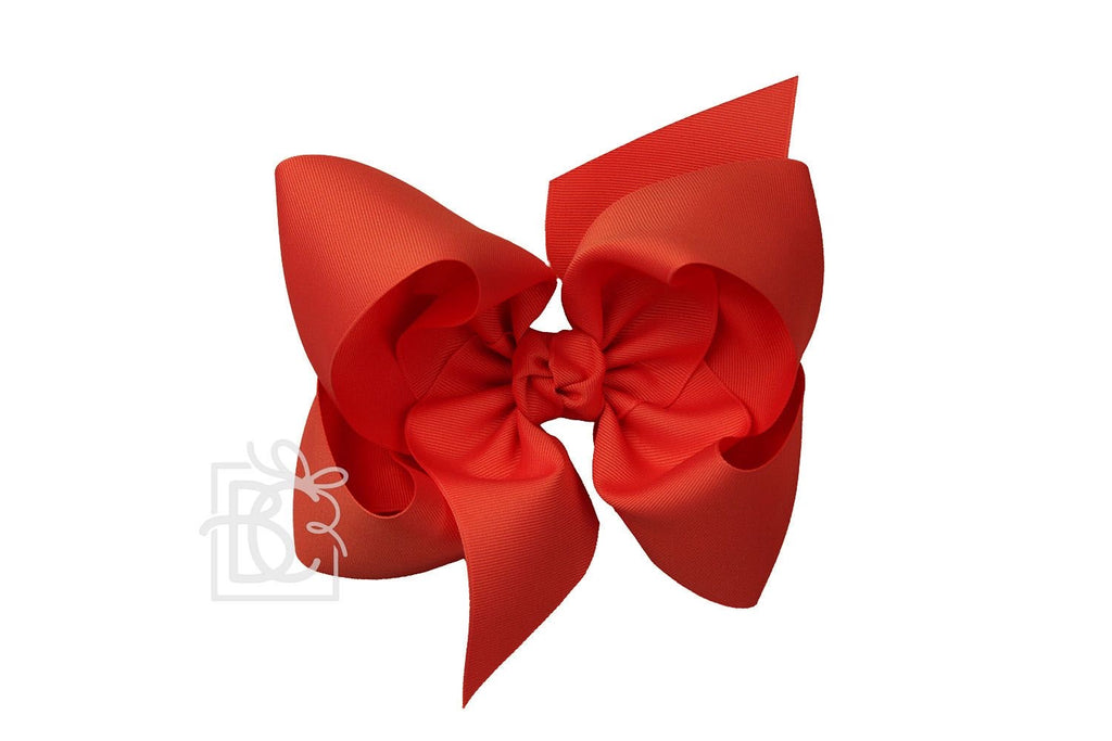 Texas Sized Bow in Red  - Doodlebug's Children's Boutique