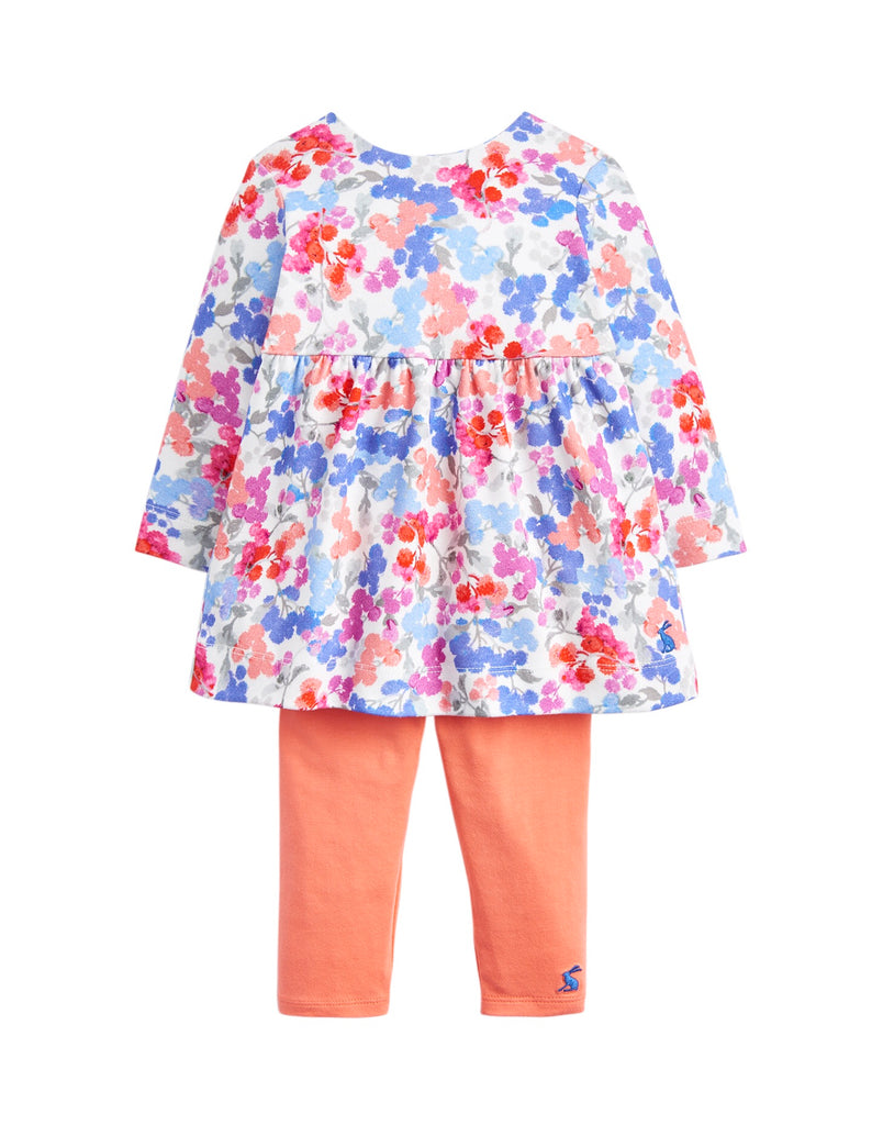 Joules Christina White Floral Set