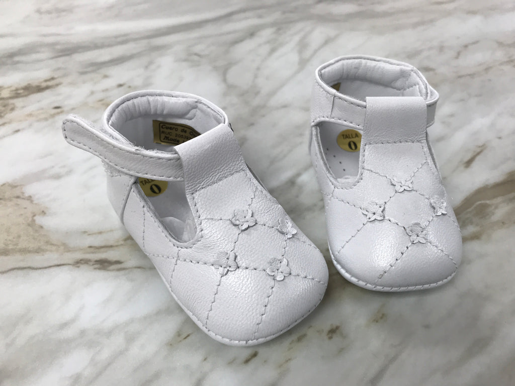 Ninis Treasures Caroline Infant Leather Shoes
