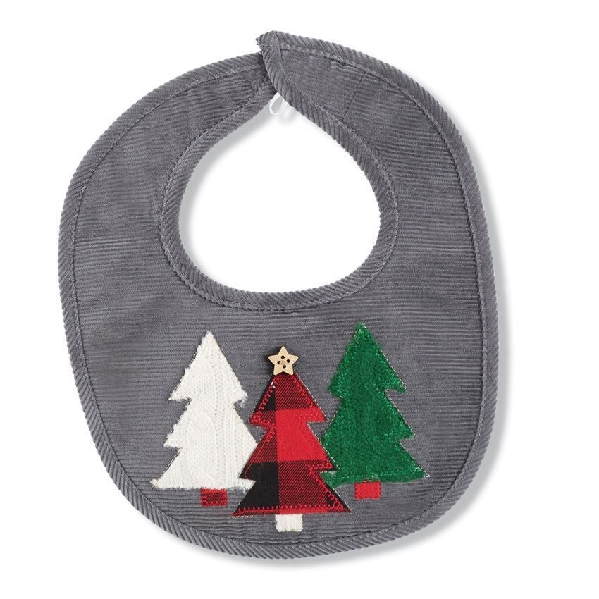 Mud Pie Christmas Tree Bib