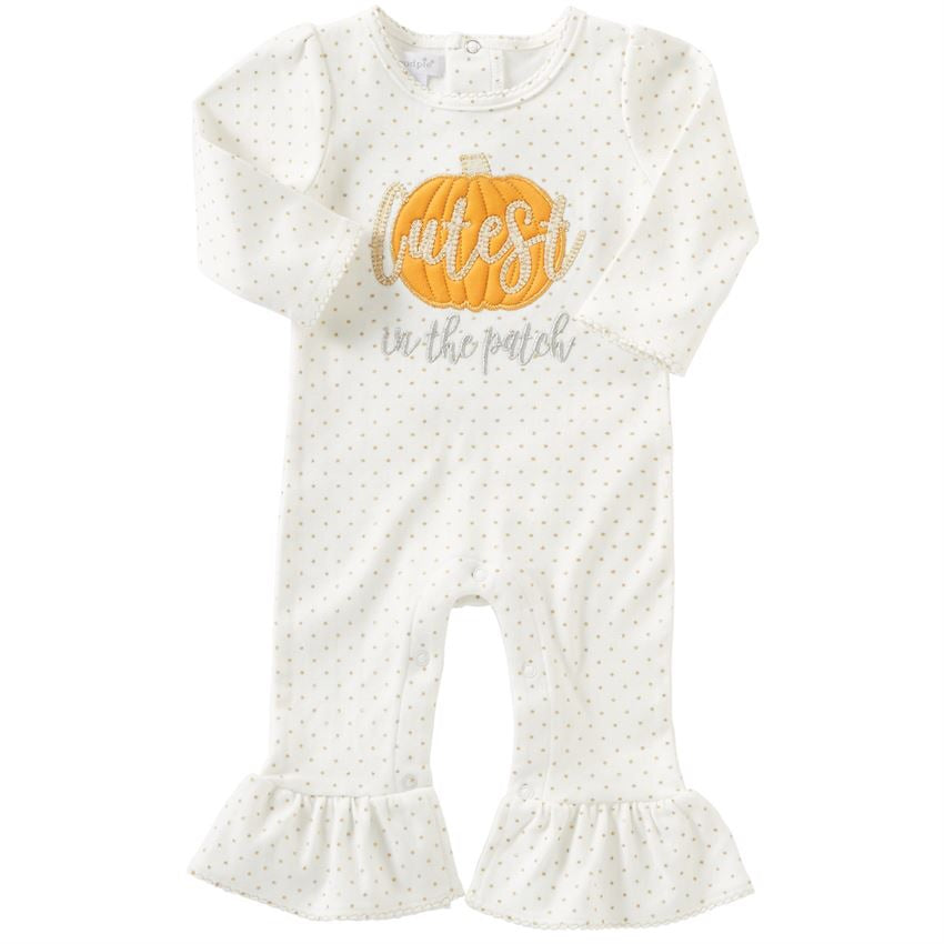 Mud Pie Cutest Pumpkin One-Piece