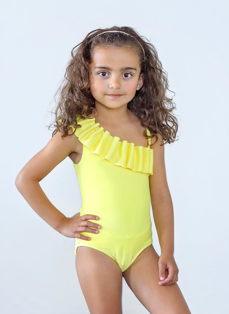 Kate Mack Yellow Swimsuit
