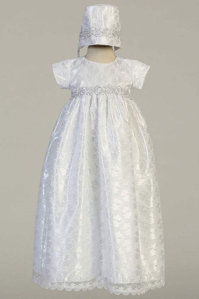 Cassandra Gown 0-3 months - Doodlebug's Children's Boutique