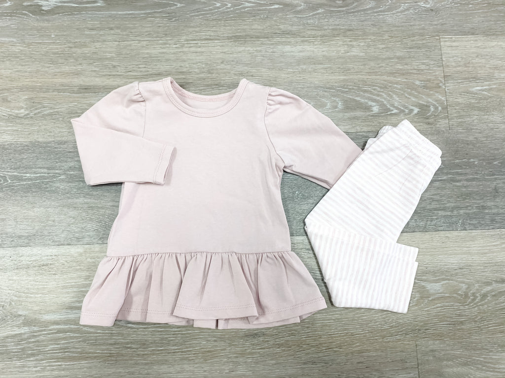 Girl Power 2 Piece Set  - Doodlebug's Children's Boutique