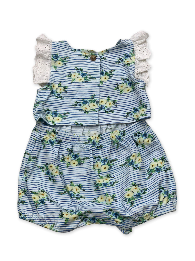 Laney Bubble in Nautical Summer  - Doodlebug's Children's Boutique