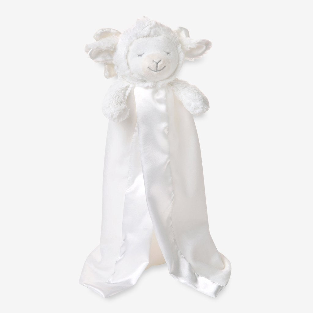 Prayer Lamb Baby Security Blanket  - Doodlebug's Children's Boutique