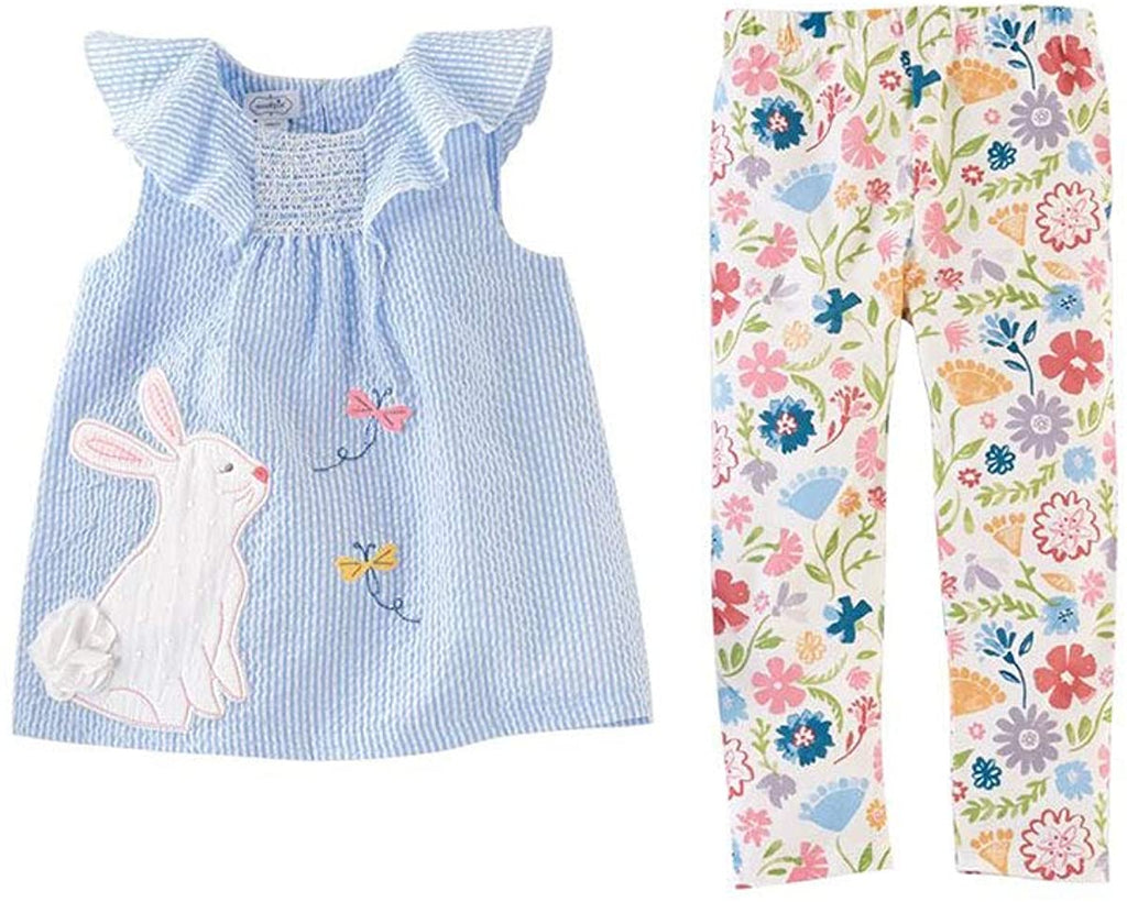 Easter Tunic and Legging  - Doodlebug's Children's Boutique