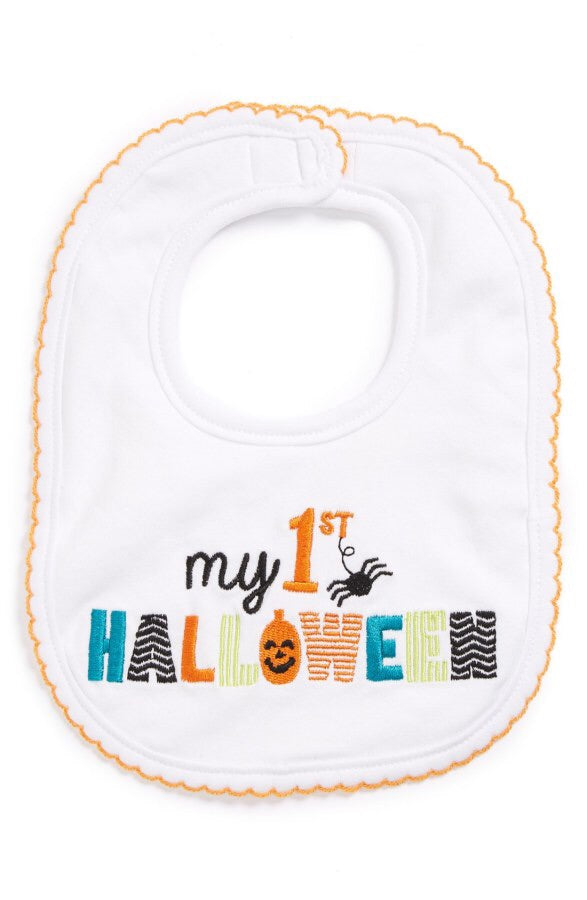 Mud Pie My First Halloween Bib